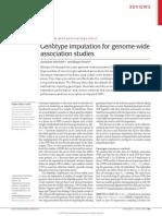 ---- Genotype Imputation for Genome-wide Association Studies