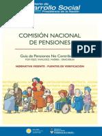 normativa vigente  pensiones