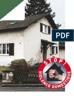 Brochure «Stop! Violence domestique»