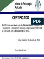 Modelo Certificado Treinamento