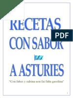 Recetas de Asturias