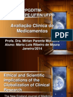 Apresentação seminario Avaliação clinica medicamentos