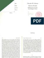 Adorno Minima Moralia 92 93