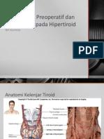 Manajemen Preoperatif Dan Perioperatif Pada Hipertiroid