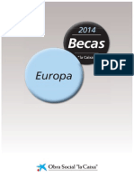 Bases Becas 2014 Europa CAIXA