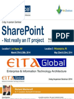 Share point - Not really an IT project - Seminar By EITAGlobal