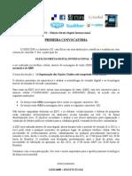 PRIMEIRA CONVOCATÓRIA - Eleição Direta Digital Internacional