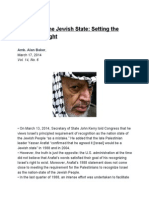 Arafat and the Jewish State