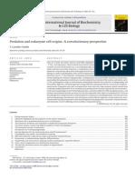 Cavalier-Smith (2009) Predación y origen de las células eucariontes. Una perspectiva coevolutiva.