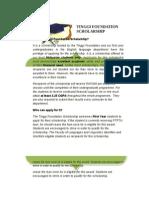 Corrected 18 May 2012 Tinggi Foundation Info