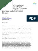 Reforma Al Cod.proc.Penal