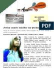 Jovem comete suicídio em Queimadas