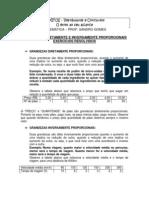 GRANDEZAS DIRETAMENTE E INVERSAMENTE PROPORCIONAIS EXERCÍCIOS RESOLVIDOS