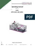 Optimum D180x300 Manual GB