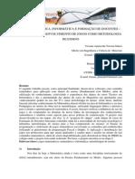 MATEMÁTICA, INFORMÁTICA E FORMAÇÃO DE DOCENTES