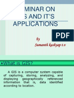 GIS AND IT'S APPLICATIONS
