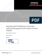 Deploying Sap Netweaver Information Lifecycle Management Implementation Guide