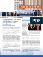 Arnstein & Lehr LLP Fall 2009 Update Newsletter
