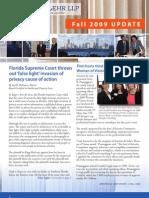 Arnstein & Lehr LLP Fall 2009 Update Newsletter
