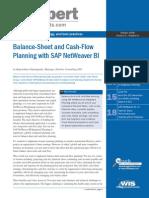 Balance Sheet Cash Flow Planning Final Techwave