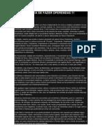 A IMPORTÂNCIA DE FAZER OFERENDAS