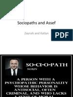 sociopaths and assef