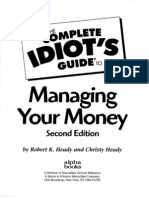 Complete Idiots Guide to Managing Your Money