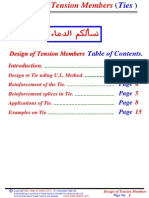 17 - (Tie) Design of Tension Member