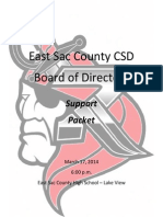March 17, 2014 ESC School Board Packet