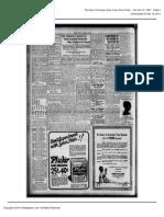Obituary Mrs. Victor Rochon 1924