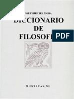 Ferrater Mora - CH