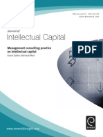 Bernard Marr Management Consulting Practice in Intellectual Capital 2005