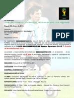 Copa Soccercenterclub Futbol Total 2014.
