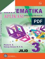 Buku Pelajaran SMA Kelas 12 - Matematika Aplikasi Program IPA Jilid 3(2)
