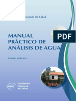 Manual Anal is is Agua
