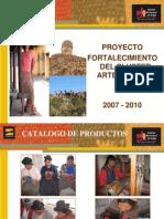 Catálogo de Productos y asociaciones textiles Puno