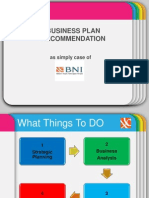 Business Plan Strategy