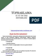 TOPRAKLAMA IT TT TN TNS SİSTEMLERİ