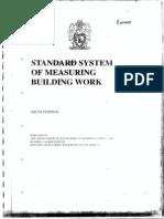 Standard System of Measuring Bulding Work RSA