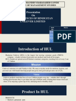 HR PRACTICES OF HUL