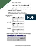 Pembuatan Program Sederhana Dengan Delphi 7 0