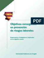 Objetivos Conseguidos Prev Aragon