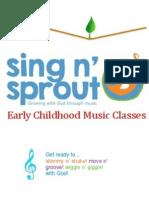 Brochure Sing n Sprout
