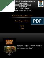 Ecologia Vegetal - Clima e Fisionomia
