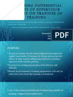 Training and Development  ppt