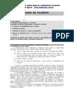 Guia de Estudos de Filosofia - Resumos II.doc