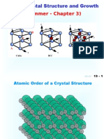Silicon Crystal Structure and Growth