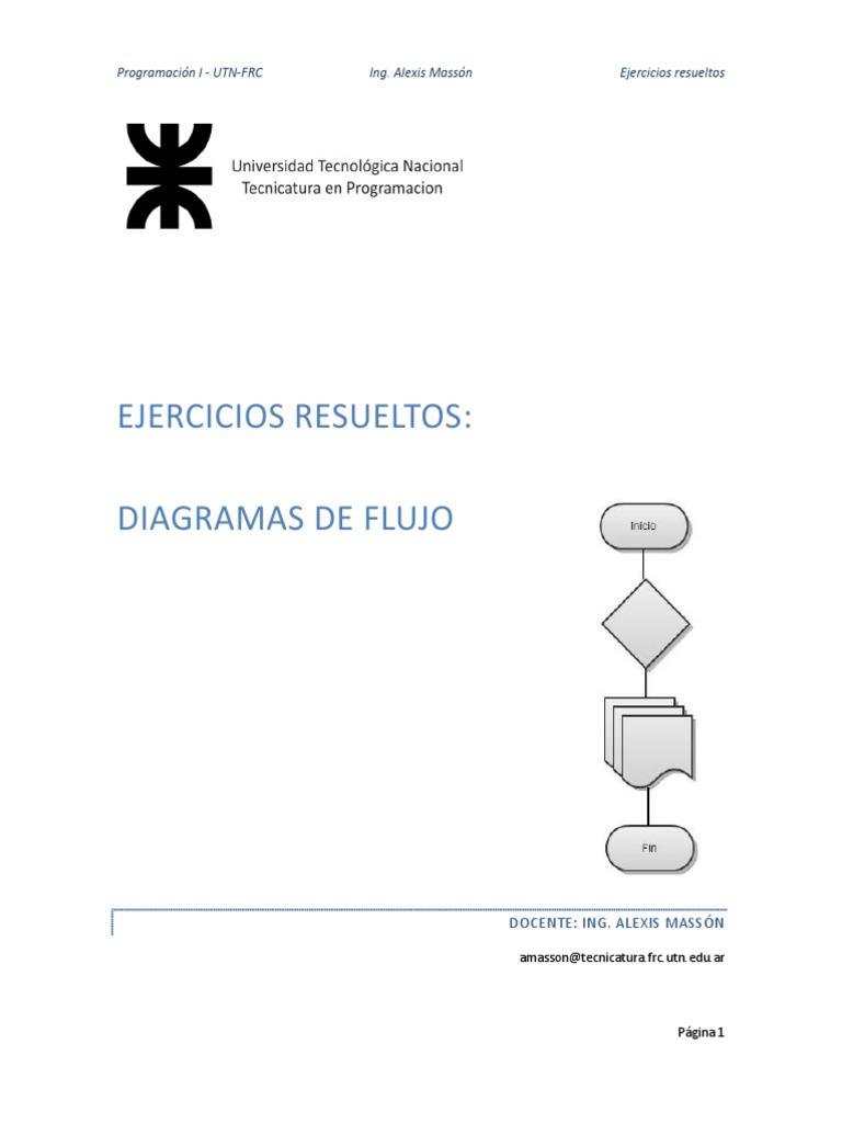 Ejercicios resueltos de diagramas de flujos ccuart Image collections