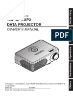 Projector Manual 4287