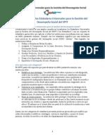 Estándares universales para la gestión del desempeño social